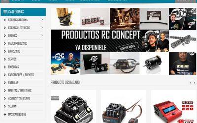 Divermodel estrena web con su nuevo catálogo RC Concept