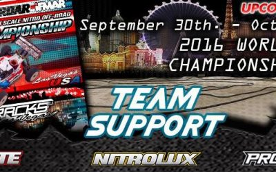 Modelix - Soporte a pilotos en el Campeonato del Mundo 1/8 TT Gas en Las Vegas