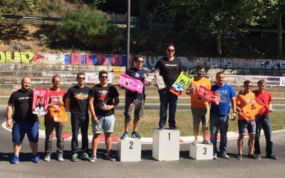 Iñaki Otero se alza Campeón de España 1/8 Pista con su Infinity