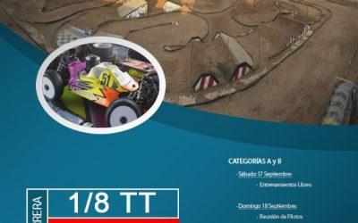 17 y 18 de Septiembre - Campeonato de Madrid 1/8 TT Gas en Tarancón