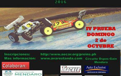 1 y 2 de Octubre - Campeonatos sociales de Euskadi 1/8 TT Gas y Eco ¡Dos carreras en un finde!