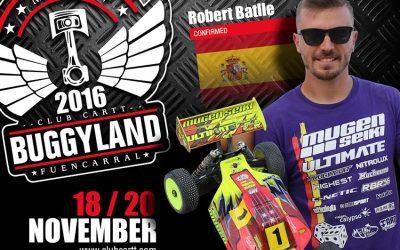 Buggyland 3.0 - Robert Batlle confirmado para Buggyland 2016