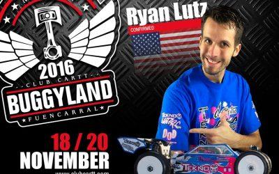 Buggyland 2016 - Confirmado Ryan Lutz