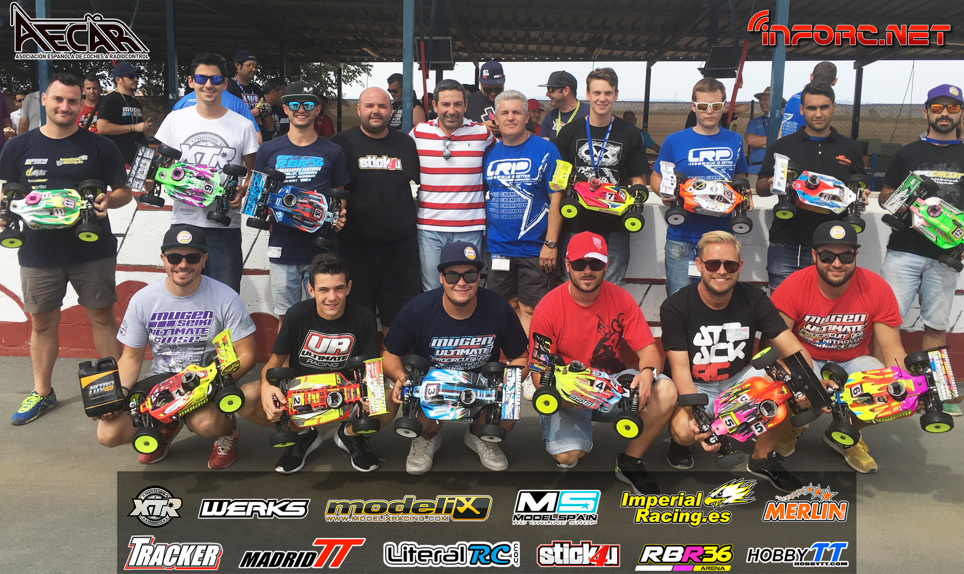 Video - Final completa Campeonato de España A 1/8 TT Gas, San José de la Rinconada