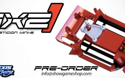 Showgame presenta MXZ1, el primer mini chasis de competición fabricado en Italia