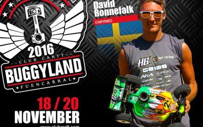 Buggyland 3.0 - El Campeón de Europa 1/8 TT Eco 2016 también se apunta a Buggyland este año