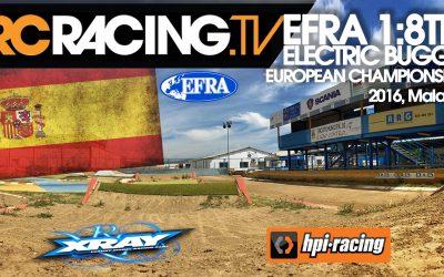 Video en directo - Finales del Campeonato de Europa 1/8 TT Eco