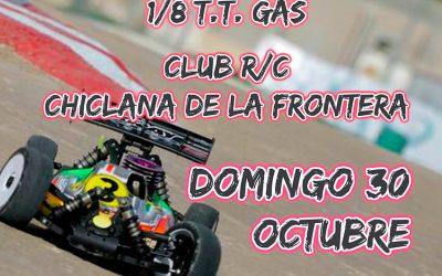 30 de Octubre - Cuarta prueba campeonato de Cádiz 1/8 TT Gas 2016. Chiclana de la Frontera
