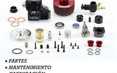 1 de Noviembre - Curso gratuito de motores nitro en Club Pical RC