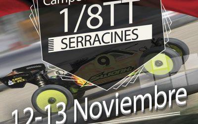 12 y 13 de Noviembre - Campeonato de España de resistencia 1/8 TT Gas 2016