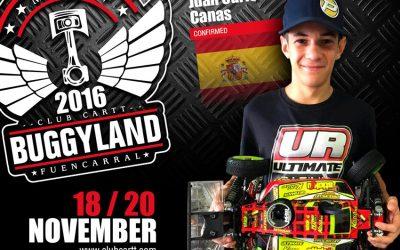 Buggyland 3.0 - Confirmado Juan Carlos Canas, el piloto revelación de esta temporada