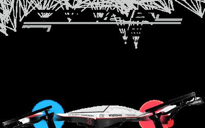 Video - Kyosho Drone Racer, el dron de carreras con emisora de pistola y volante