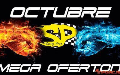 Mega ofertón SP Tires para tiendas, con motivo del lanzamiento de su nuevo dibujo de neumáticos