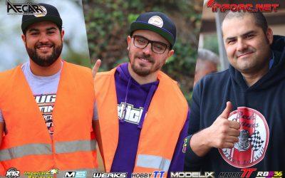Robert Batlle, Bryan Baldo y Dani Vega lideran las Q1