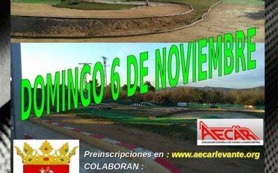6 de Noviembre - Primera prueba Levante 1/8tt gas - Sant Joan de Moró -