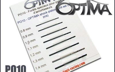 Brocas Optima de precisión, calibradas para ajustar los orificios en tus pistones