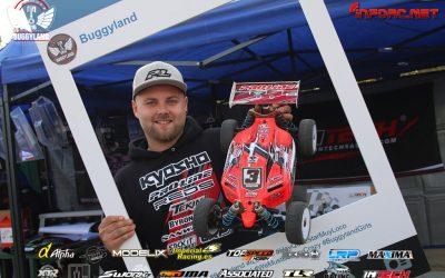 Elliot Boots, Campeón de Buggyland 3.0 en la modalidad 1/8 Eco