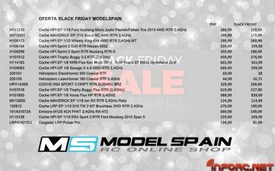 Black Friday en Modelspain - ¡No te pierdas sus descuentos!
