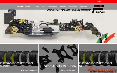Showgame estrena página web y catálogo para coches de gran escala. Precios especiales.