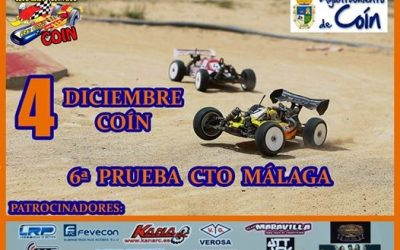 8 de Diciembre - Ultima prueba Cto Málaga. Premios y patrocinadores.
