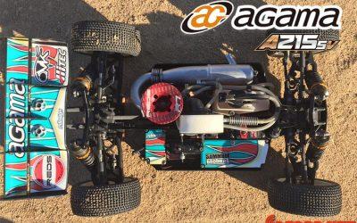 Nuevo Agama A215 SV, rediseñado en más de un 50%
