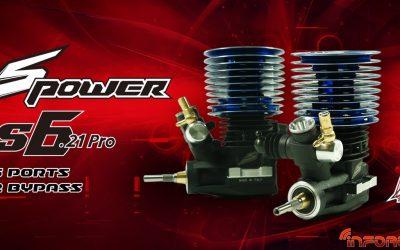 Nuevos motores SPower S y Pro Tuned .21 fabricados por Picco