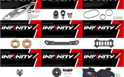 Infinity lanza nuevas piezas opcionales para 1/8 on road