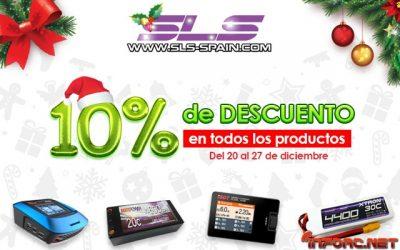 10% de descuento en SLS Spain del 20 al 27 de Diciembre ¡No lo dejes escapar!
