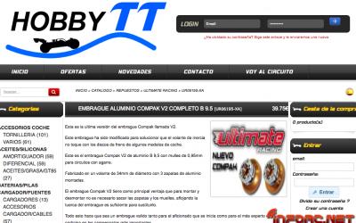 Hobby TT - Cupón descuento 6€ por embrague, para que no te patine la cuesta de Enero