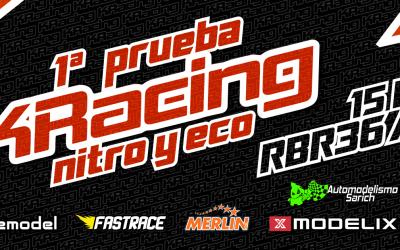 15 de Enero - Última carrera del RBR36 Arena. 1ª Prueba Cto. K Racing