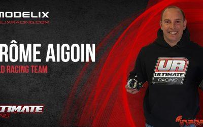 Jerome Aigoin, nuevo piloto Modelix Racing
