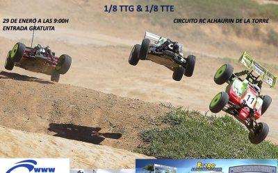 29 de Enero - Comienza el Campeonato de Málaga 1/8 TT Gas y Eco 2017 en Alhaurín de la Torre