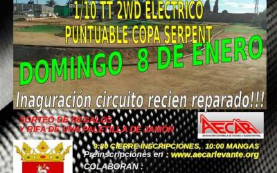 8 de Enero - Trofeo de Navidad puntuable para el Provincial de Castellón 1/8 TT Nitro y Eco