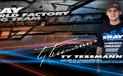 Confirmado - Ty Tessmann correrá con XRay