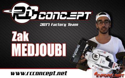 Zak Medjoubi se suma al equipo RC Concept