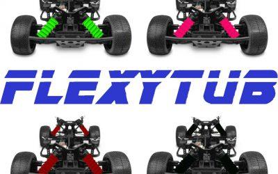 FlexyTub - Nueva gama para 1/10 Short Course