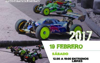 19 de Febrero - Primera prueba regional Castilla y Leon 1/8 TT Electrico