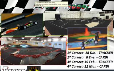 19 de Febrero - 3ª prueba cto. Euskadi 1/10tt indoor - Tracker