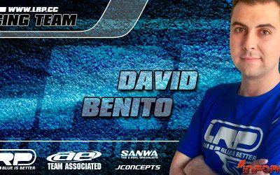 El Team LRP sigue creciendo y da la bienvenida a David Benito