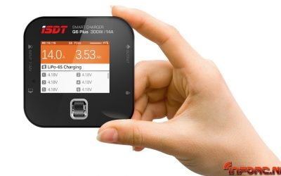 ISDT Q6 Plus, mini cargador con prestaciones de gran cargador. ¡Reserva el tuyo ya en SLS Spain!