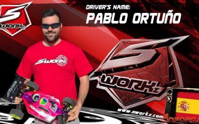 Pablo Ortuño, nuevo piloto oficial SWorkz