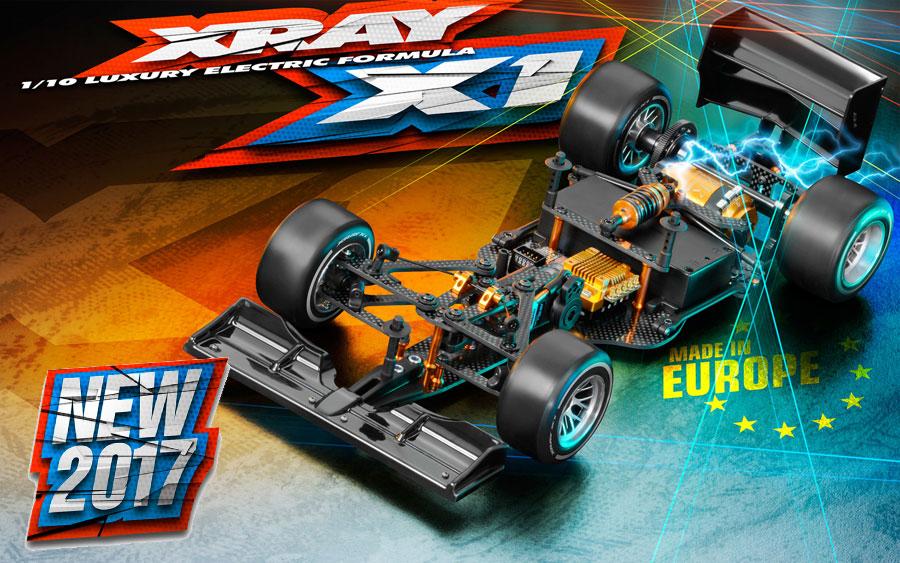 XRAY X1 - 2017 Specs Formula 1 Kit 370702