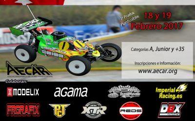 18 y 19 de Febrero - ¡Comienza el Campeonato de Madrid 1/8 TT Gas 2017 en Serracines!