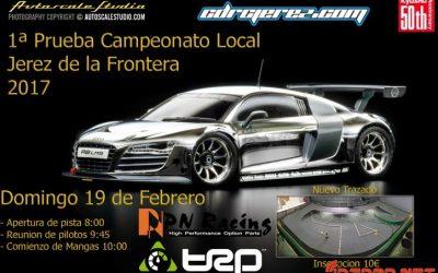 19 de Febrero - Primera prueba Campeonato Local Mini Z Jerez de la Frontera