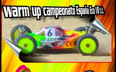 4 y 5 de Marzo - Tercera prueba Campeonato Levante 1/8 TT Electrico