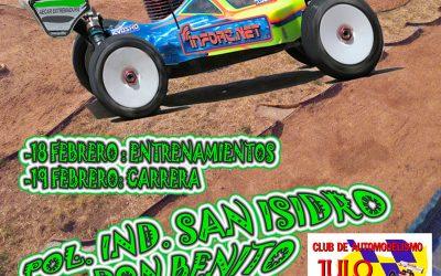 18 y 19 de Febrero - Segunda prueba Regional de Extremadura 1/8 TT Gas 2017