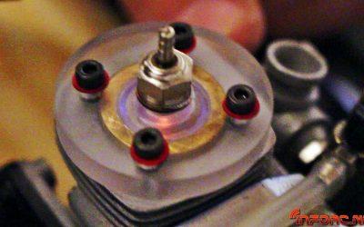 Video - Así son las explosiones de un motor glow en funcionamiento.