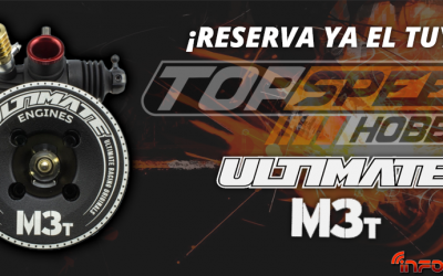 Reserva ya tu Ultimate M3T fabricado por OS en Top Speed Hobby