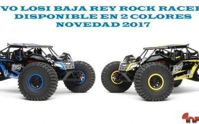 Nuevos Losi Baja Rey RTR, ya disponibles en Modelspain. Novedad en España.