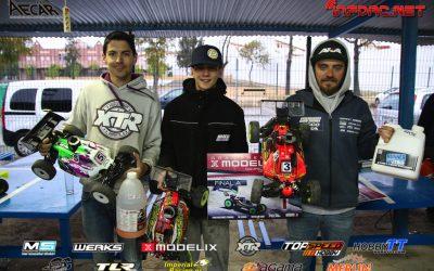 Juan Carlos Canas gana la primera prueba del Campeonato de España A 1/8 TT Gas 2017 en Lebrija. Tabla de marcas.